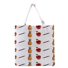 Ppap Pen Pineapple Apple Pen Grocery Tote Bag
