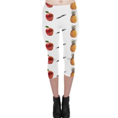 Ppap Pen Pineapple Apple Pen Capri Leggings