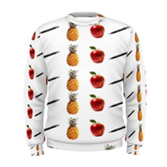 Ppap Pen Pineapple Apple Pen Men s Sweatshirt