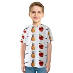 Ppap Pen Pineapple Apple Pen Kids  Sport Mesh Tee