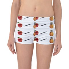 Ppap Pen Pineapple Apple Pen Reversible Boyleg Bikini Bottoms