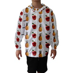 Ppap Pen Pineapple Apple Pen Hooded Wind Breaker (Kids)