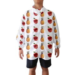 Ppap Pen Pineapple Apple Pen Wind Breaker (Kids)