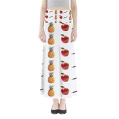 Ppap Pen Pineapple Apple Pen Maxi Skirts