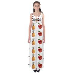 Ppap Pen Pineapple Apple Pen Empire Waist Maxi Dress