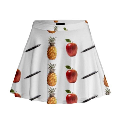 Ppap Pen Pineapple Apple Pen Mini Flare Skirt