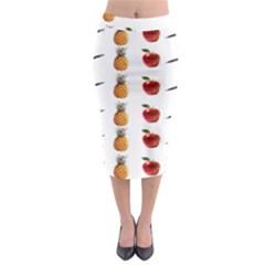 Ppap Pen Pineapple Apple Pen Midi Pencil Skirt