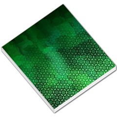 Ombre Green Abstract Forest Small Memo Pads
