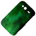 Ombre Green Abstract Forest HTC Wildfire S A510e Hardshell Case View4