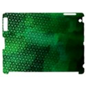 Ombre Green Abstract Forest Apple iPad 2 Hardshell Case (Compatible with Smart Cover) View1
