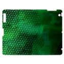 Ombre Green Abstract Forest Apple iPad 3/4 Hardshell Case View1