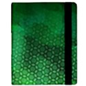 Ombre Green Abstract Forest Kindle Fire (1st Gen) Flip Case View2