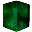 Ombre Green Abstract Forest Apple iPad 3/4 Flip Case View4