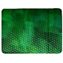 Ombre Green Abstract Forest Samsung Galaxy Tab 7  P1000 Flip Case View1