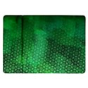 Ombre Green Abstract Forest Samsung Galaxy Tab 10.1  P7500 Flip Case View1