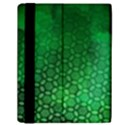 Ombre Green Abstract Forest Samsung Galaxy Tab 10.1  P7500 Flip Case View2