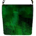 Ombre Green Abstract Forest Flap Covers (S)  View1