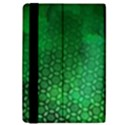 Ombre Green Abstract Forest iPad Mini 2 Flip Cases View4