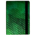 Ombre Green Abstract Forest iPad Air Flip View2