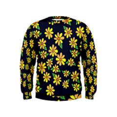 Daisy Flower Pattern For Summer Kids  Sweatshirt