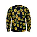 Daisy Flower Pattern For Summer Kids  Sweatshirt View1