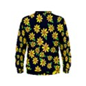 Daisy Flower Pattern For Summer Kids  Sweatshirt View2