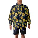 Daisy Flower Pattern For Summer Wind Breaker (Kids) View1