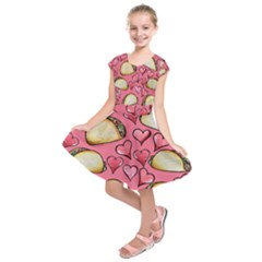 Taco Tuesday Lover Tacos Kids  Short Sleeve Dress