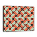 Modernist Geometric Tiles Canvas 14  x 11  View1