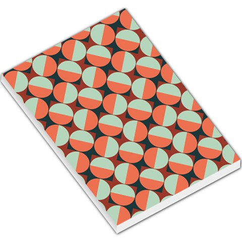 Modernist Geometric Tiles Large Memo Pads