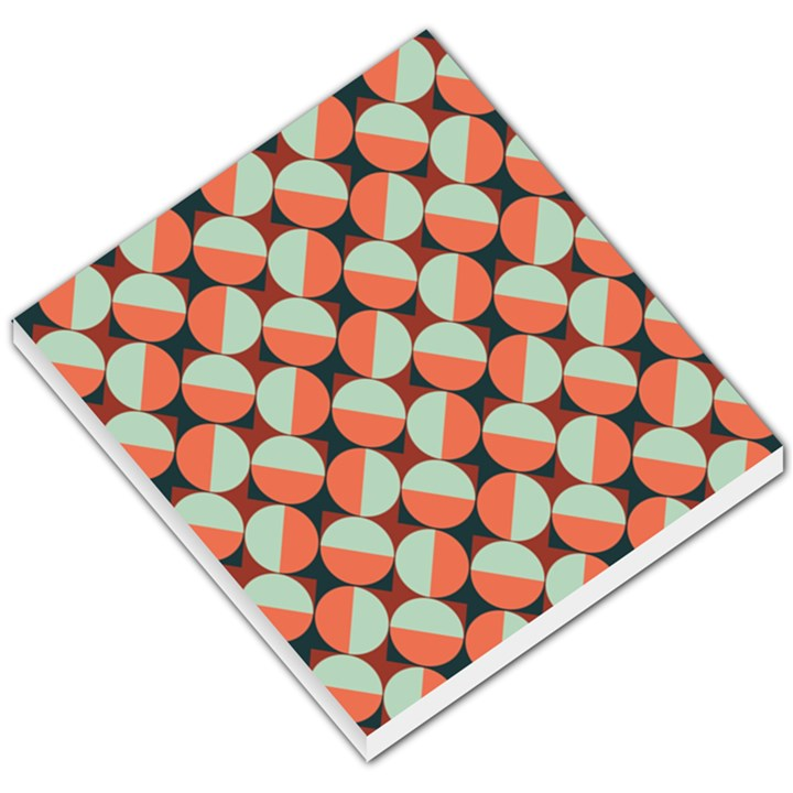 Modernist Geometric Tiles Small Memo Pads