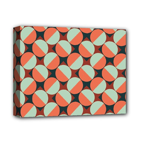 Modernist Geometric Tiles Deluxe Canvas 14  x 11