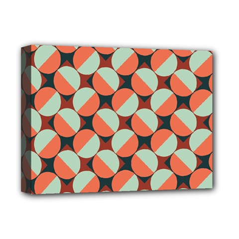 Modernist Geometric Tiles Deluxe Canvas 16  x 12