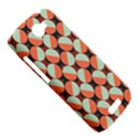 Modernist Geometric Tiles HTC One S Hardshell Case  View5