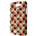 Modernist Geometric Tiles Samsung Galaxy Note 2 Hardshell Case View3