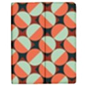Modernist Geometric Tiles Apple iPad 2 Flip Case View1