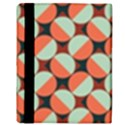 Modernist Geometric Tiles Apple iPad 2 Flip Case View3