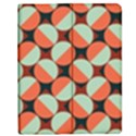Modernist Geometric Tiles Apple iPad Mini Flip Case View1