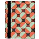 Modernist Geometric Tiles Apple iPad Mini Flip Case View3