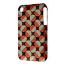 Modernist Geometric Tiles Apple iPhone 3G/3GS Hardshell Case (PC+Silicone) View3