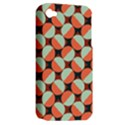 Modernist Geometric Tiles Apple iPhone 4/4S Hardshell Case (PC+Silicone) View2