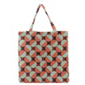 Modernist Geometric Tiles Grocery Tote Bag View1