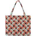 Modernist Geometric Tiles Mini Tote Bag View1