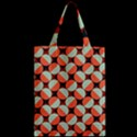 Modernist Geometric Tiles Zipper Classic Tote Bag View2
