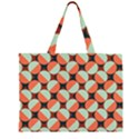Modernist Geometric Tiles Large Tote Bag View1