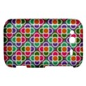 Modernist Floral Tiles HTC Wildfire S A510e Hardshell Case View1
