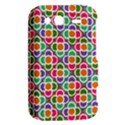 Modernist Floral Tiles HTC Wildfire S A510e Hardshell Case View2