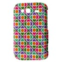 Modernist Floral Tiles HTC Wildfire S A510e Hardshell Case View3