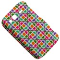 Modernist Floral Tiles HTC Wildfire S A510e Hardshell Case View5