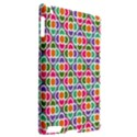 Modernist Floral Tiles Apple iPad 2 Hardshell Case (Compatible with Smart Cover) View2